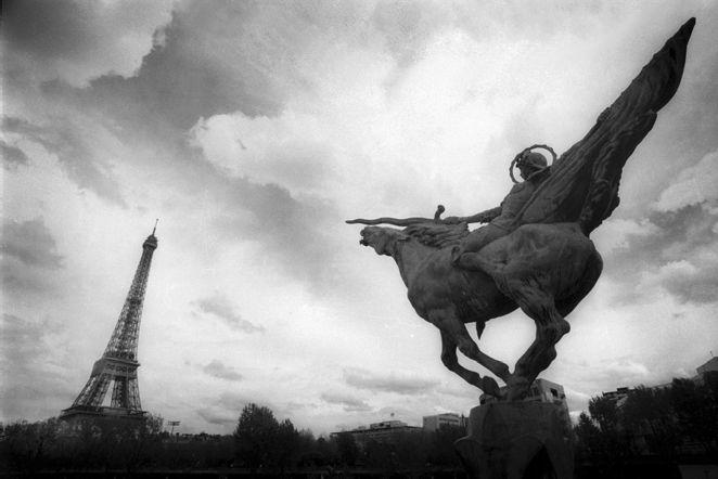 Владимир Базан фотограф Париж я не хочу домой